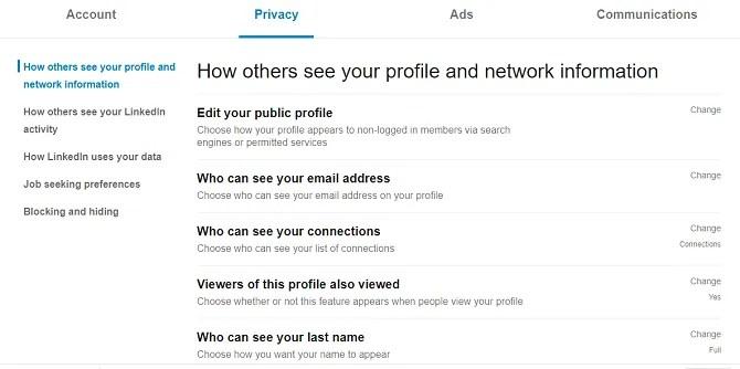 конфиденциальность по ссылкам