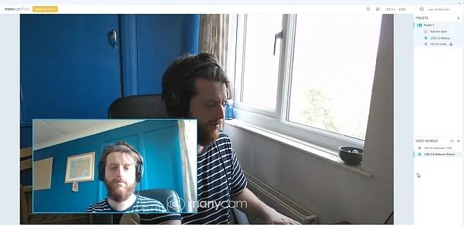 كاميرا ويب مزدوجة cameracam سكايب