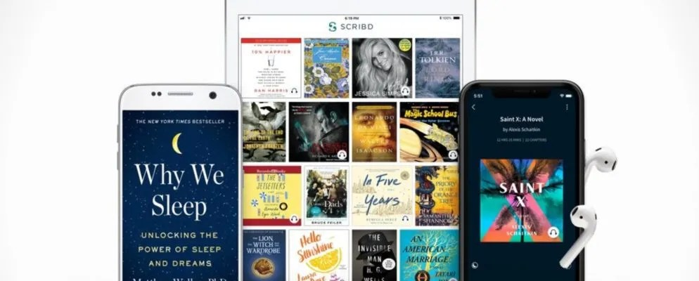 You Can Now Use Scribd Free for 30 Days
