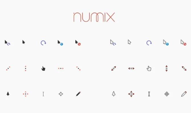 Cursores Numix