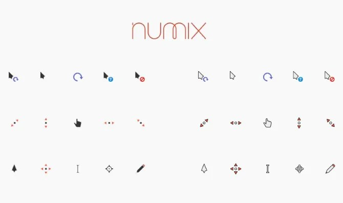 Numix Cursors