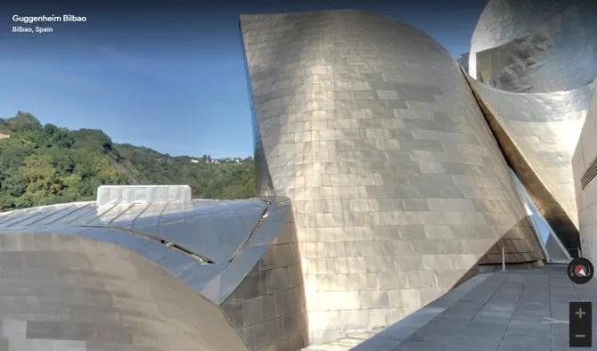 The Guggenheim Museum Bilbao virtual tour
