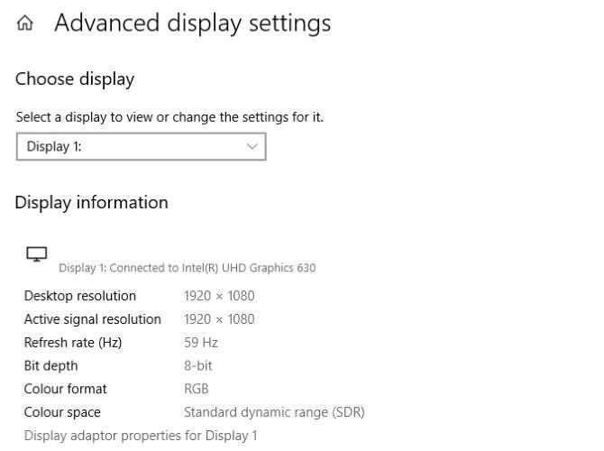 تحسين إعدادات عرض Windows 10 للألعاب المحسنة