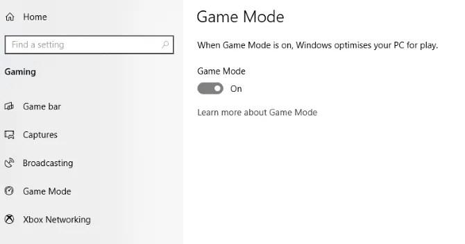 تحسين Windows 10 للحصول على أداء أفضل للألعاب