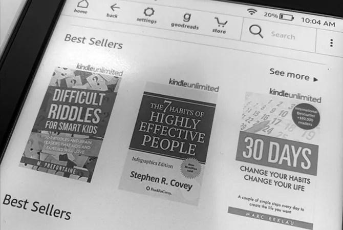 Зачем заводить Kindle?
