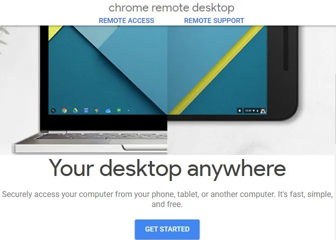 Chrome Desktop Home desktop