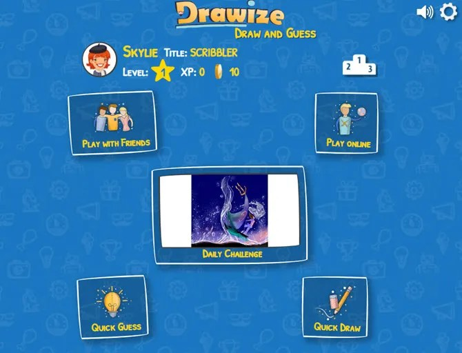 Drawize is a fun draw and guess game