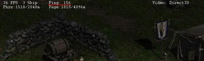 إحصائيات Ping في Diablo 2
