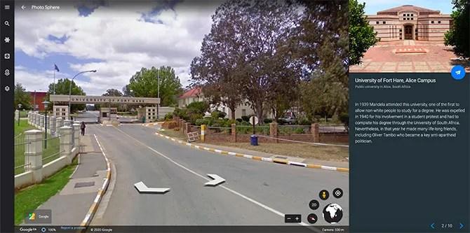 Виртуальный тур Google по стопам Манделы