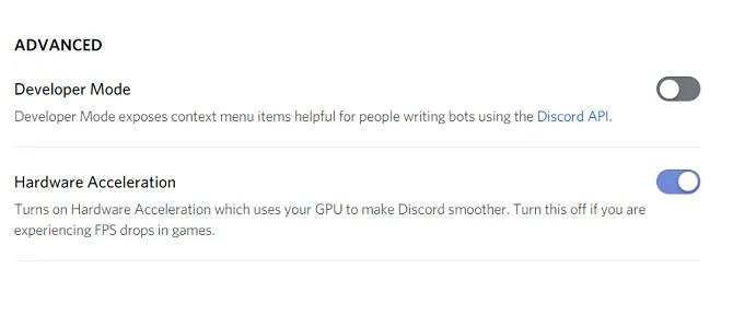 discord dev mode setup