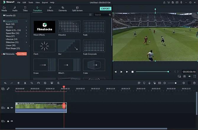 editor de video filmora9