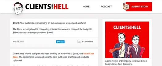 Funny Blog Clients From Hell