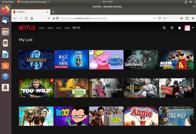 Доступ к вашему списку Netflix в Linux