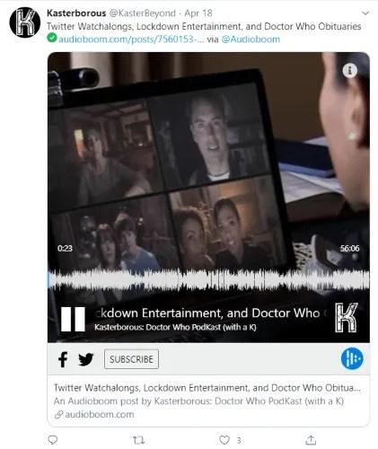 Загрузите аудио в Audioboom, чтобы поделиться в Twitter