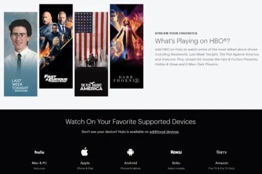 Hulu HBO Free Trial