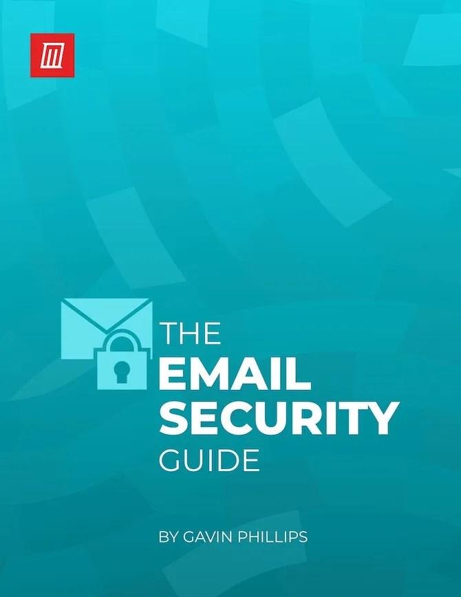 Безопасность электронной почты PDF изображение обложки