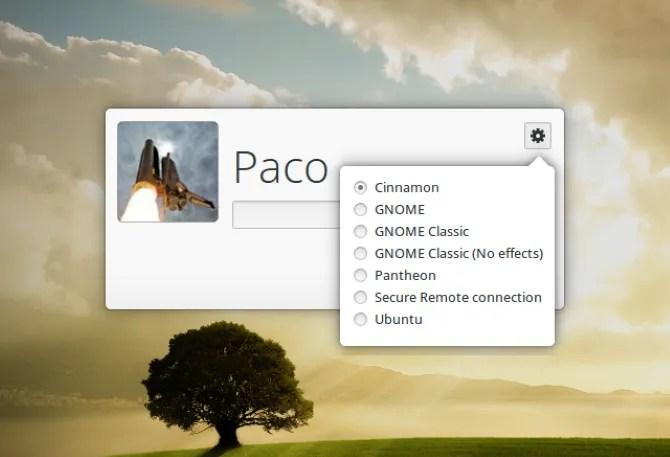 Измените диспетчер отображения Linux для нового окна входа в систему