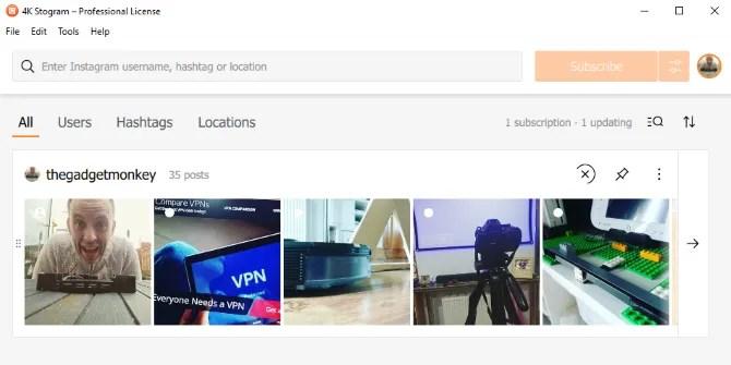 Получите доступ к Instagram на своем ПК с помощью 4K Stogram