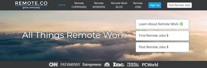 Remote.co нанимать внештатных программистов