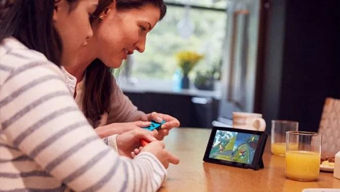 Nintendo Switch настольный режим