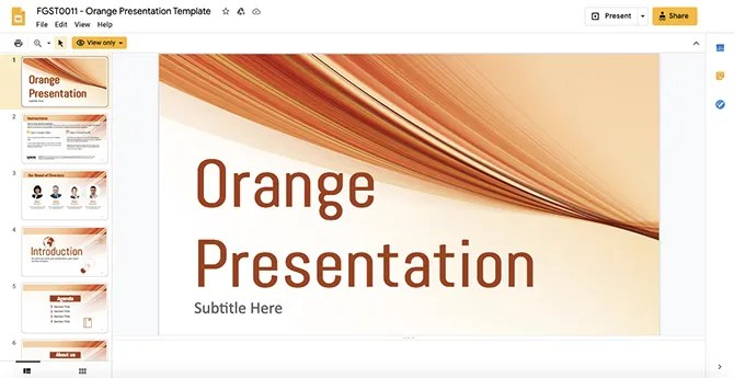 Ginva Шаблоны Google Slides для загрузки