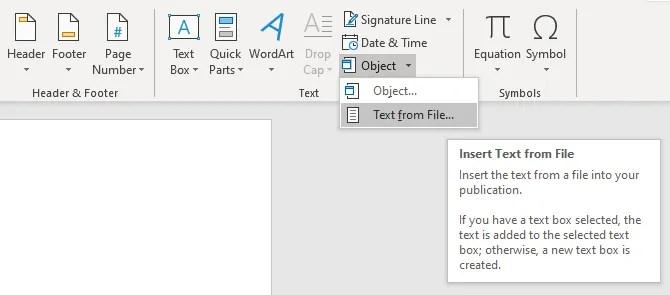 слово вставить текст из файла