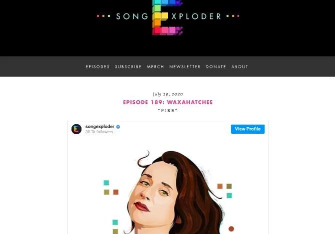 Song Exploder - увлекательный подкаст, в котором рассказывается о том, как создается песня.