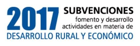 Banner Subvenciones Des Rural y Economico 2017