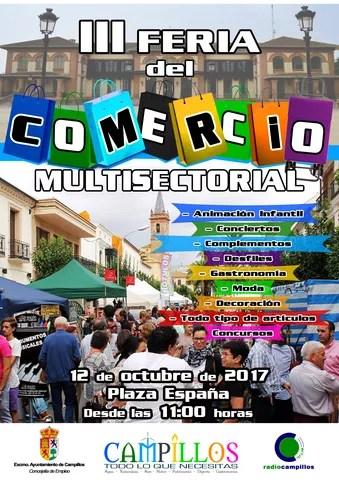 Cartel III Feria del Comercio