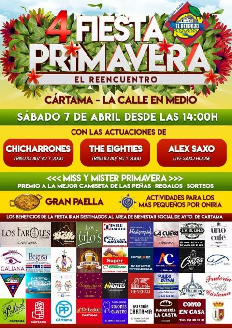 Cartel Fiesta Primavera 070418