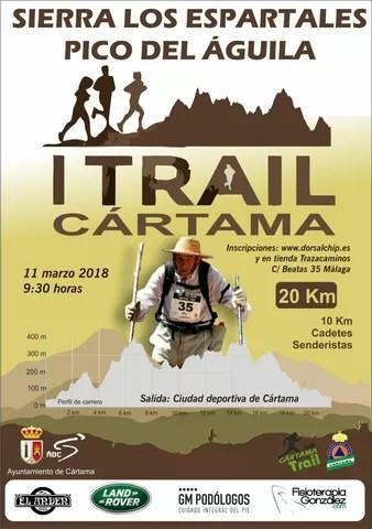 Cartel I Trail Cártama 110318