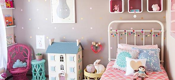 12 ιδέες διακόσμησης για να κάνετε το κοριτσίστικο δωμάτιο παραμυθένιο