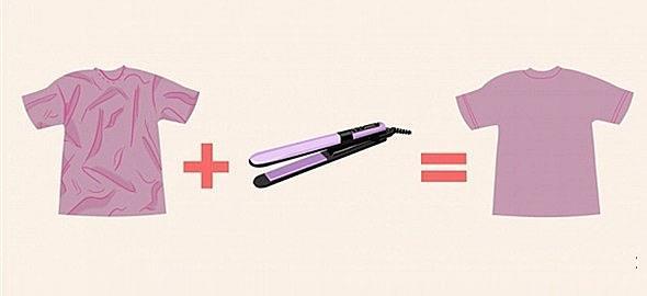 Πώς να σιδερώσετε τα ρούχα χωρίς… σίδερο