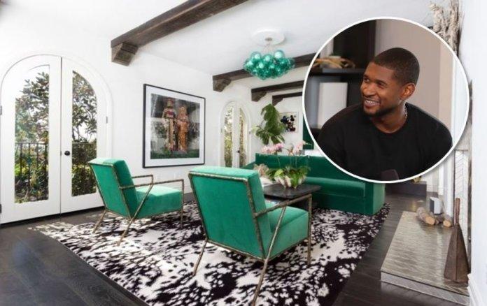 Image result for Usher Lists West Hollywood Home for $4.2 Million