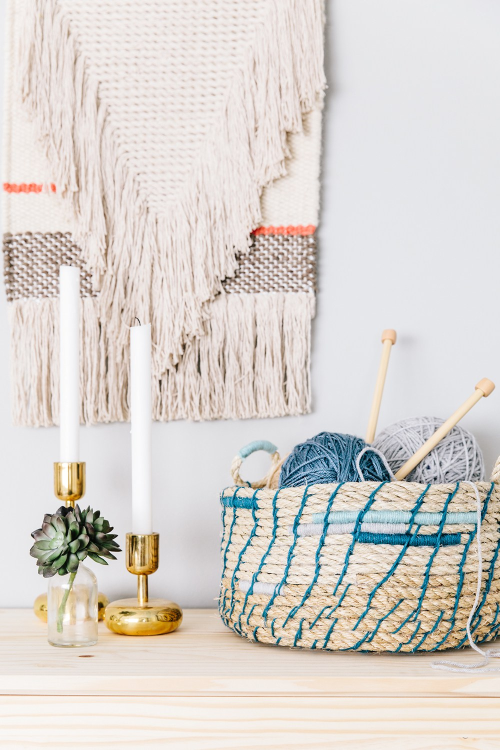 20 DIY Projects Featuring Rope Crafts