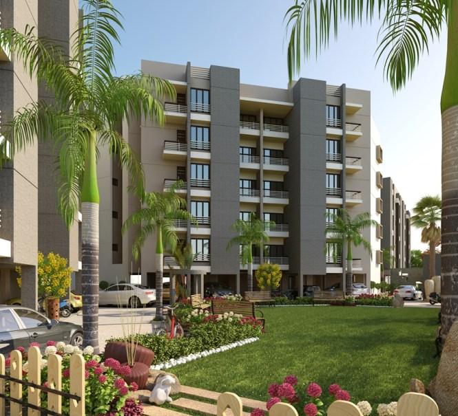 Modern Luxury Apartment Exterior Design