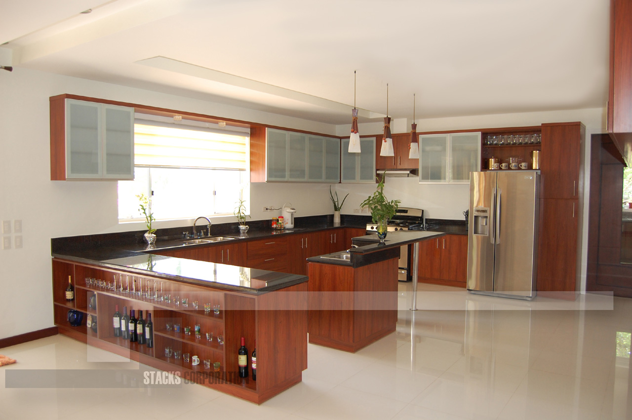 U Type Kitchen Design