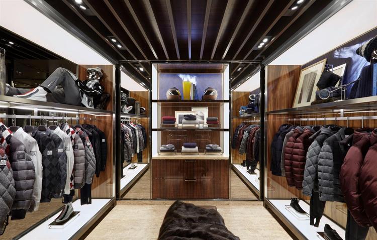 Moncler Boutique In Le Marais Paris By Gilles Bossier