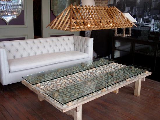 Nicaraguan Stone Coffee Table At