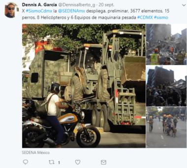 Pendant les journées du 20-21 septembre, les forces armées ont déployé des milliers de soldats et plusieurs engins lourds à travers la ville © Clément Detry