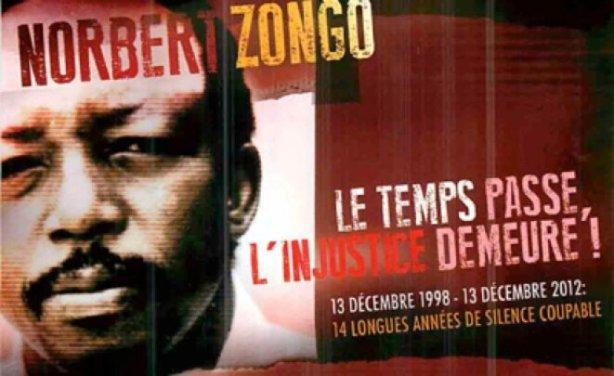 Affiche à Ouagadougou en 2012 © DR
