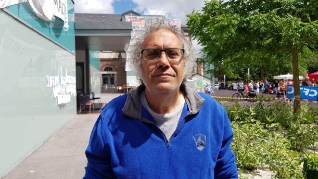 René Navarette, infirmier de secteur psychiatrique. © ES