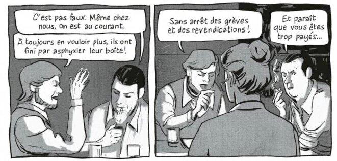 © Laurent Galandon & Damien Vidal, Lip, Des Héros ordinaires, Dargaud