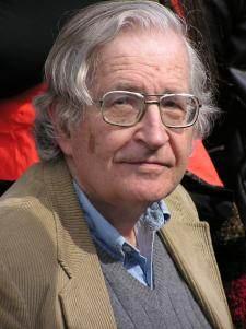 Noam Chomsky : « C'est sans précédent. »