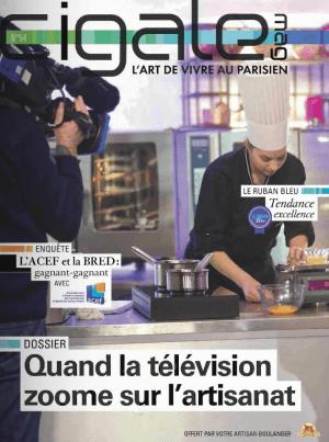 """Le dernier numéro du magazine """"Cigale""""."""