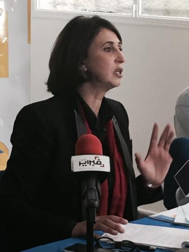 Nabila Mounib, le 25 août. ( AICPress)