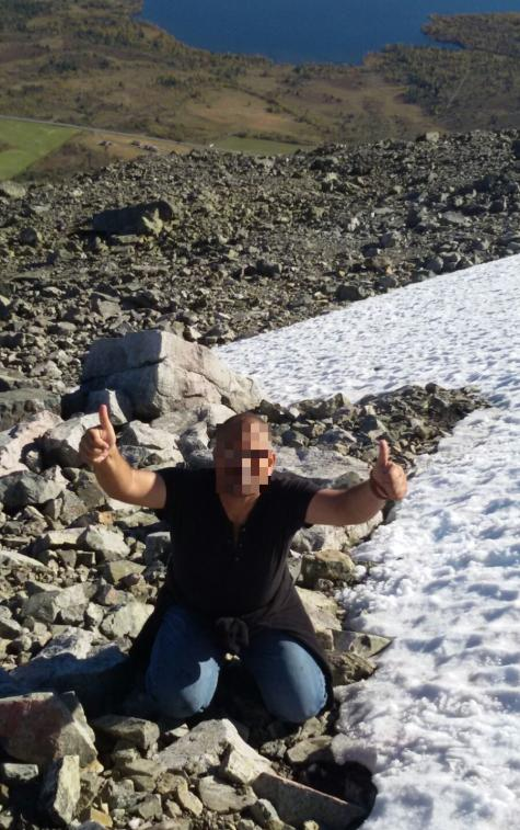 Wissam a trouvé refuge à Hemsedal en Norvège.