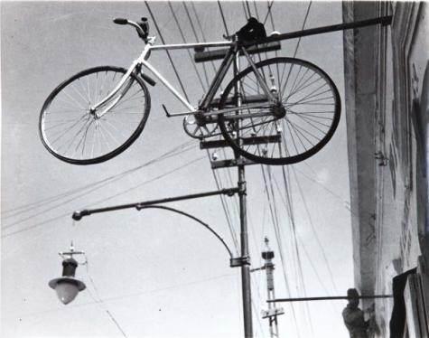 Vélo en l'air