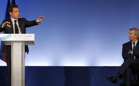 Nicolas Sarkozy et Vincent Bolloré