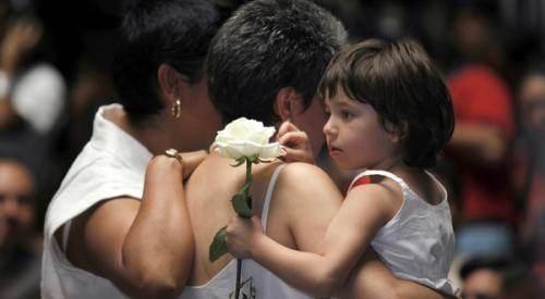 Deux mamans mexicaines et leur fille